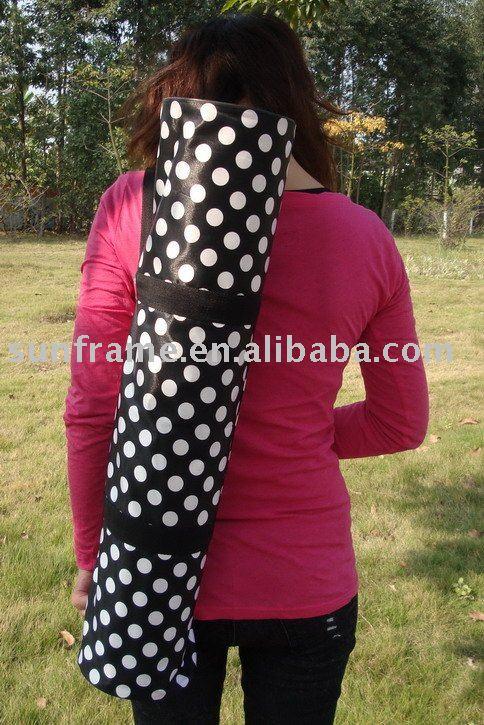 Black Yoga Mat Bag