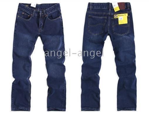 Wholesale LEE men's clothing men's pants men's Business Casual Straight