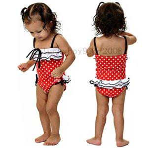 New Swimsuits girl Swimwear Children's swimwear kids beachwears girls suits baby swimming we ...