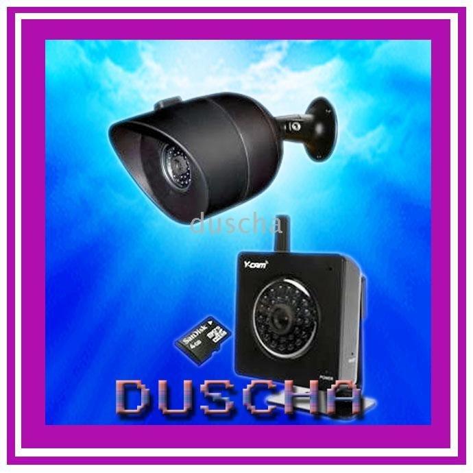 Wireless Security Camera Night Vision
