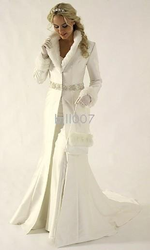 wedding dresses with color and sleeves. Dress color  white or ivory