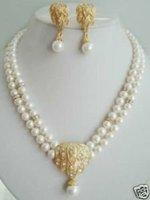 Joyas collares de perlas cultivadas de las mujeres aretes (China (continental))