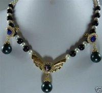 Jade con Encanto y perla Collar colgante (China (continental))