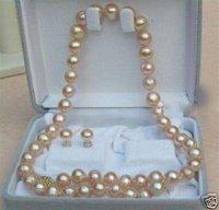 """pendiente collar de perlas de agua Set 17 """"Pendientes (China (continental))"""