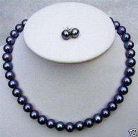 Casa Negro Perla Establece collar pendiente (China (continental))