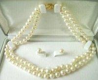 "AA agua salada raros perla Collar de 17 ""(China (continental))"