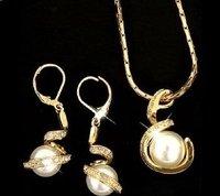 concha perla colgante, collar de la joyería (China (continental))