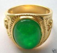 Casa chino verde jade hombres el tamaño del anillo 8 a 11 # (China (continental))