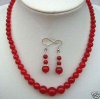 collar rojo de joyería de jade \ pendiente colgante (China (continental))