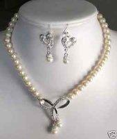 Juego de 8-9mm collar de perlas de agua dulce y pendiente (China (continental))