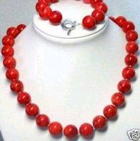 Hermosa Tibet Red Coral de collares y pulseras (China (continental))