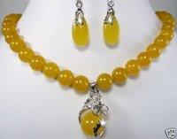 collar de jade amarillo y pendientes / Juegos / Juegos (China (continental))