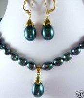 ¿Quieres Joyas del Mar Negro collar de perlas Pendientes (China (continental))