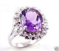 Mariposa púrpura anillo de joyas \ anillos de 9.7 # / Ringe (China (continental))