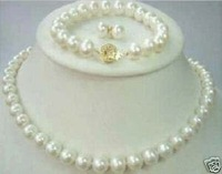 8-9mm de agua salada Collar de perlas aretes pulseras (China (continental))
