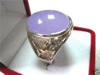 Hermosa piedra preciosa púrpura anillo de jade / Ringe (China (continental))