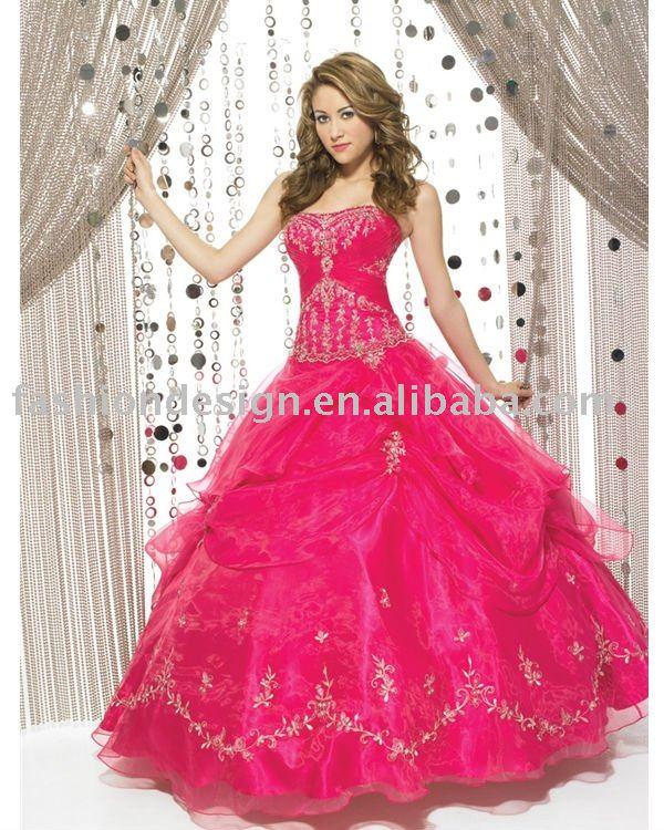 Pink Prom Dresses, Hot Pink Cocktail Dresses, Bridesmaids Dresses