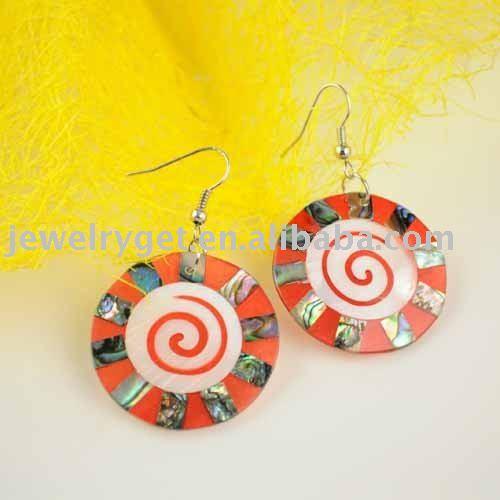 Long Hoop Lollypop Design Dangle Earrings Jewellery Free Shipping ER 350C Profile for: Melrose Foxxx