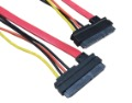 extension cable SATA 7+15 P cable use to computer &amp;HDD material LCP MOQ 500PCS