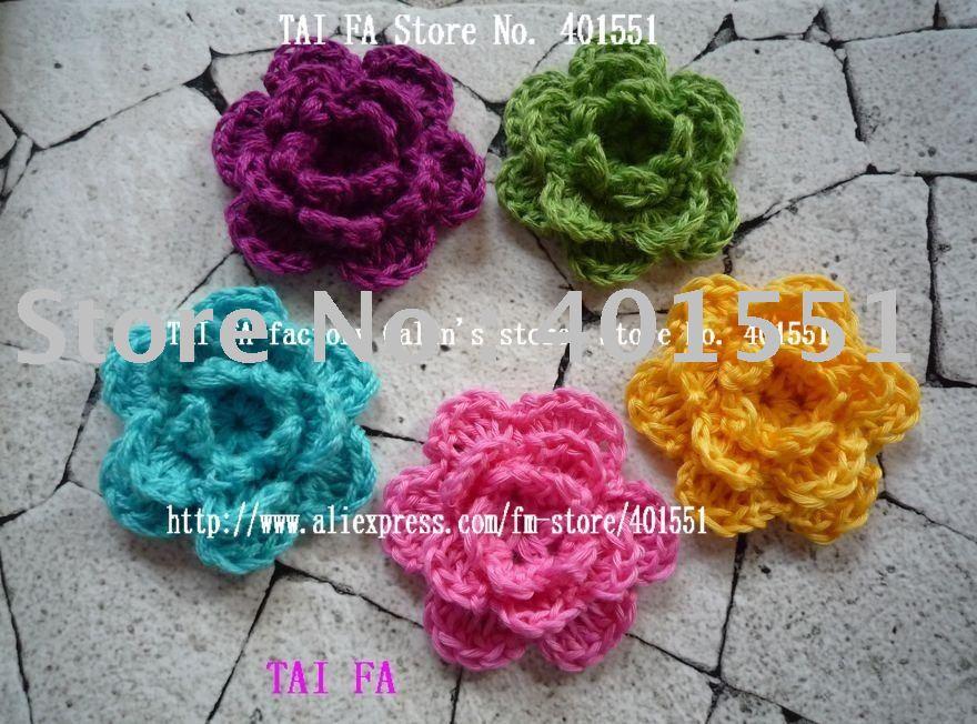 Crochet Flower Appliques How To Applique