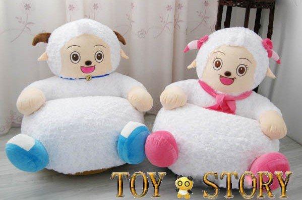 little white sheepamp kids stuffed animal sofa kids chair