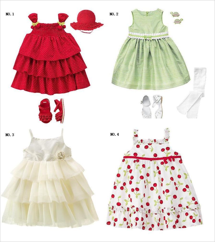 GYMBOREE dress Baby Outfits sets Girls' skirts garments petticoat baby gilets YGG-YG1213