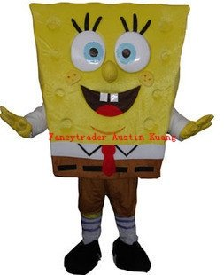 Spongebob Mascot Costume, Advertising Costume