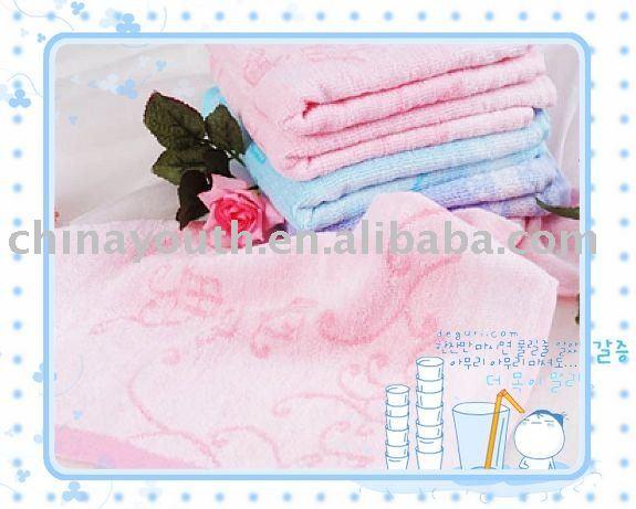 Wholesale Bamboo fiber face towel,washcloth,towel,31*67cm,YSSN-2025