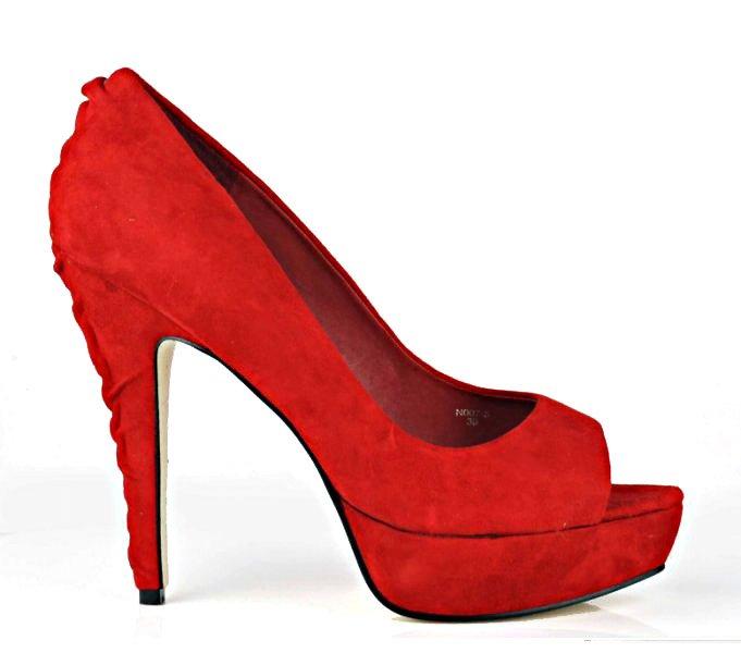 Red High Heels-19