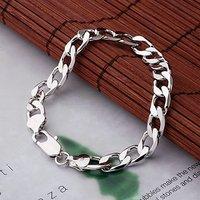 La cadena de moda pulsera, de cobre con platinado Link, y la cadena de pulsera (China (continental))