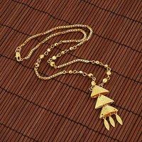 Envío Gratis, collar de moda de imitación, de cobre con oro de 18 quilates collar plateado, y colgante, al por mayor y al por menor (China (continental))