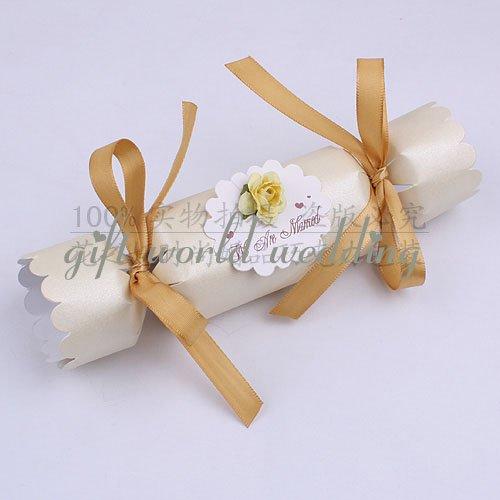 gift box 8cm wedding gift boxivory color wedding candy box200pcs per