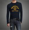 S-XXXL New 2014 Autumn Winter Men T-shirt 100% Cotton Long Sleeve Man Tees Full Sleeve T Shirt Clothing Male Apparel