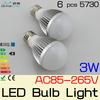 3W 5W 7W 9W E27 LED bulb light High brightness SMD5730/5630 LEDs light bulb Lampada LED with IC constant current driver 85-265v