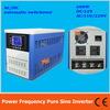 Power frequency pure sine wave 600W solar inverter DC12V to AC110V220V with charger, LCD, AC by Pass, AVR
