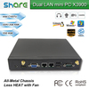 Strong Function dual lan thin client industrial computer X3900,windows or linux,1.8Ghz CPU Intel C1037U,high speed and stable