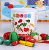 NEW 1Pack baby kitchen classic toys,Simulation food,baby wooden play house toys for 3-7 years,free shipping.