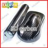 1 pc 1.52x0.5Meter 5D carbon fiber vinyl film car wrap film 5D carbon fiber car sticker TTT