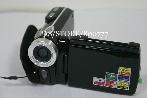12MP Solar Panel Digital Video Camera