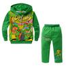 Green cotton children's clothing Teenage Mutant Ninja Turtles cartoon paragraph Tong Tong Kit Spring Kit Wholesale