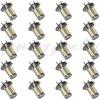 20pcs H7 33 5730 SMD LED DRL Daytime Running Fog Indicate Light Car White AC12-30V for good price free shipping
