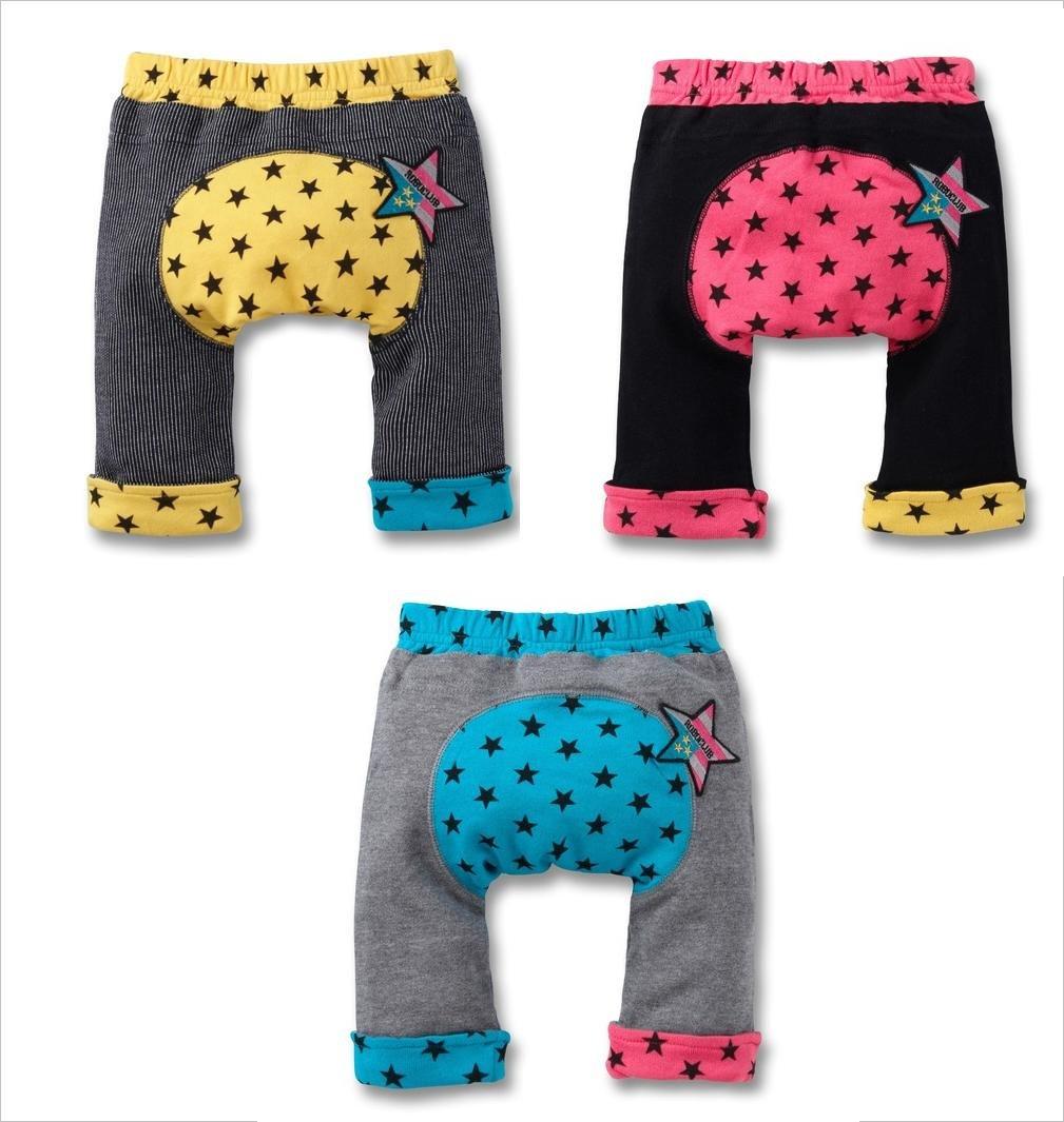 Wholesale Nissen PP Pants Baby PP warmer new born short kids toddlers pants star PP pants SXD-006