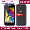 "Free gift)Original Jiayu G2FW WCDMA GSM phones 1GB RAM 4GB ROM MTK6582 Quad Core 1.3GHz 4.3"" IPS Jiayu G2f in stock/Maksim"