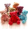 J1 Cute mini colorful multicolor 20cm mini small teddy bear stuffed doll for valentine gift, Plush Teddy Bear TOY