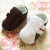 New Arrivals 2015 white stitching stripes baby shoes casual toddler shoes children's pre walker new born shoes 2215