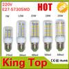 SMD5730 Led Lamp AC220V E27 7W/12W/15W/18W/20W High Brightness Led Spotlights For Home Lighting Lamp