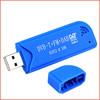 100Units/Lot Mini Smart Digital TV Stick USB 2.0 DVB-T&RTL-SDR Receiver RTL2832U & R820T2 Tuner DVB-T+FM+DAB