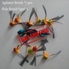 Free Shipping Agitator Main Brush *1PCS side Brush *5PAIRS for Ecovacs Deebot D62 D63 D65 D66 D68 D77 D79 Vacuum cleaners