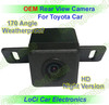 Free shipping! Toyota Prius/ Reiz/ Camry/ Crown/ Corolla/ Rav4 Rear View Backup Camera, Night vision,waterproof, HD CCD sharp