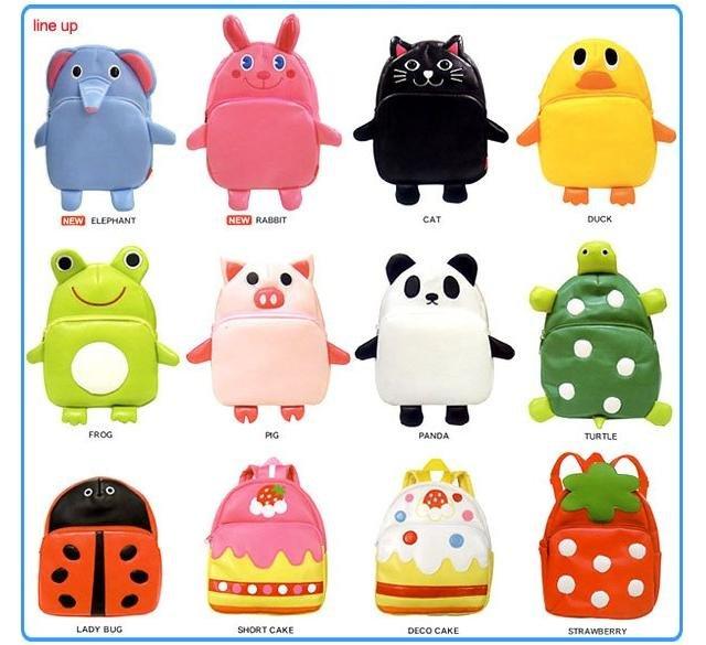 Japanese Lindalinda Kids Fashion Animal School Bag Baby student bag Backpack kid's bag LSD-004